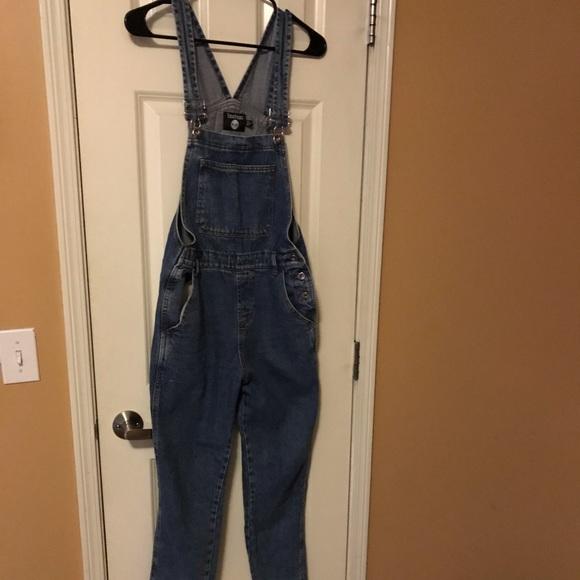 Boohoo Denim - boohoo overall jeans